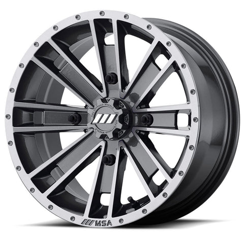 M28 Ambush (Machined) Wheel (ATV) - Custom ATV Wheel - MSA Wheels - 1