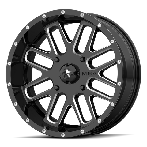M35 Bandit Milled (ATV) - Wheel Pros Powersports Division