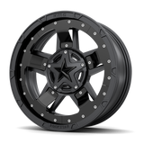 Rockstar III Mid-spoke Accessory - Black
