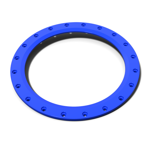 Rockstar III Accessory Ring (single) - Blue - Wheel Pros Powersports Division