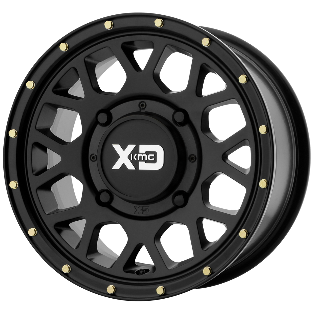 Xs135 Grenade Utv Wheel By Kmc Xd In 14 Inch And 15 Inch Sizes