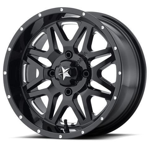 M26 Vibe Wheel Milled (ATV) - Wheel Pros Powersports Division