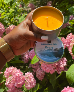 Jamaica Me Crazy Natural Soy Candle