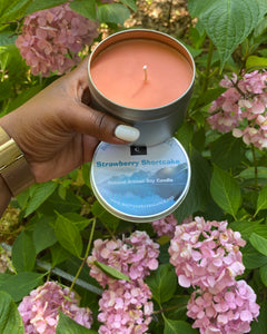 Strawberry Shortcake Natural Soy Candle