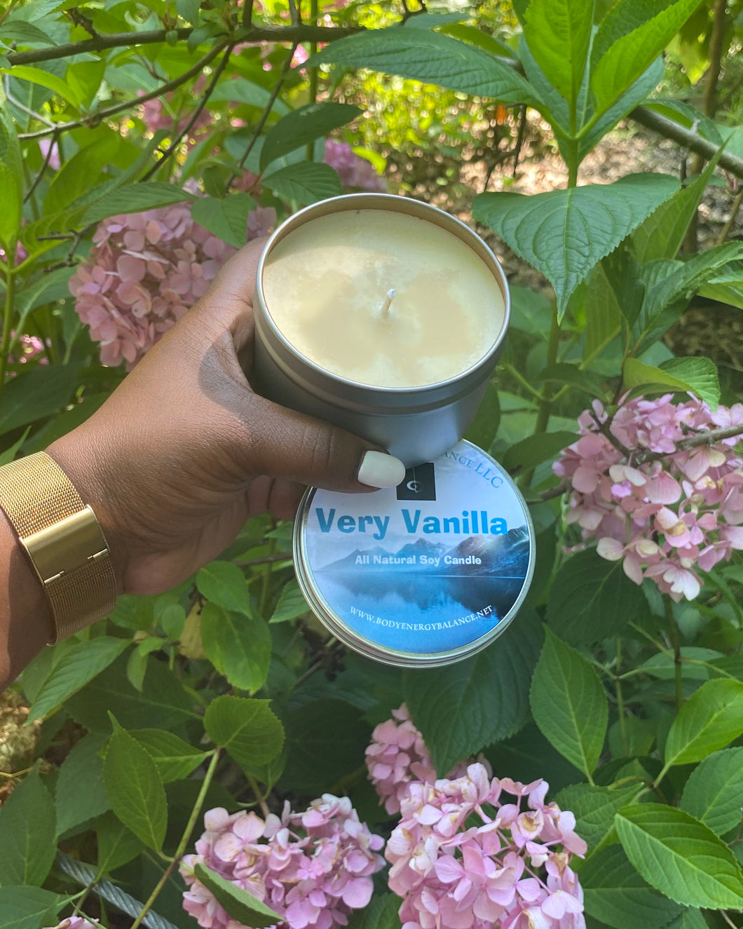 Very Vanilla Natural Soy Candle