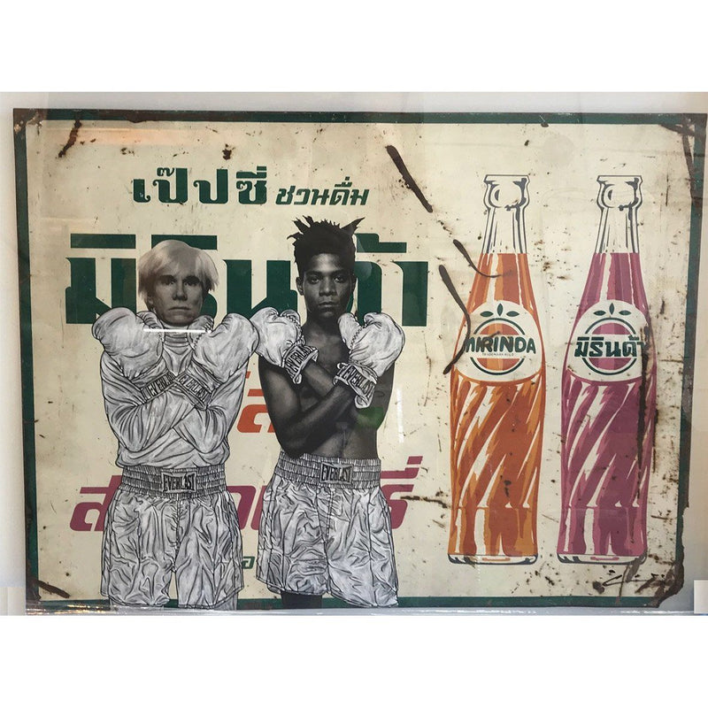 Basquiat Warhol - Pakpoom Silaphan - Art For Heroes