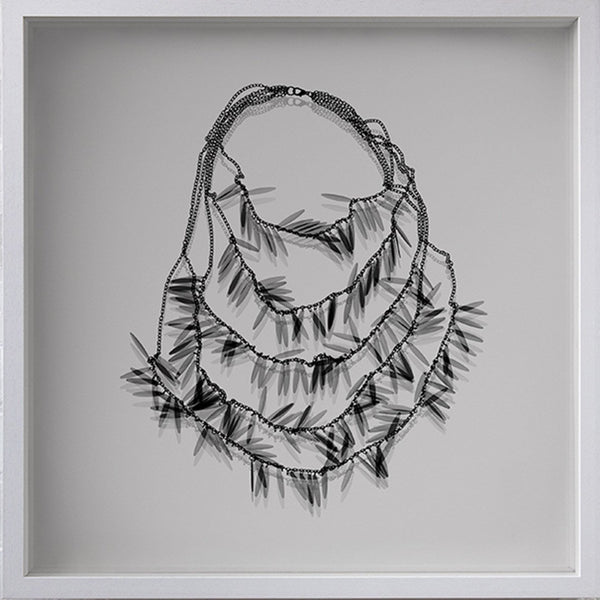 Pocahontas Necklace X-Ray Shadow Box - Nick Veasey - Art For Heroes