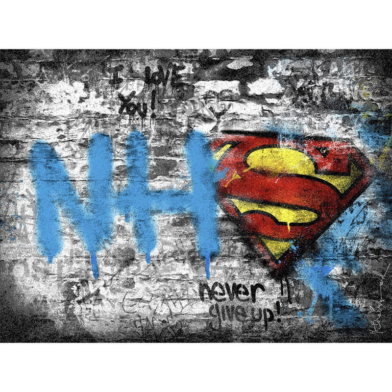 Real Heroes - Mr. Brainwash - Art For Heroes
