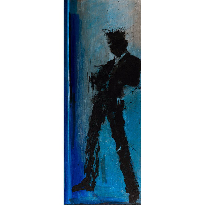 Standing Shadow - Blue - Richard Hambleton - Art For Heroes