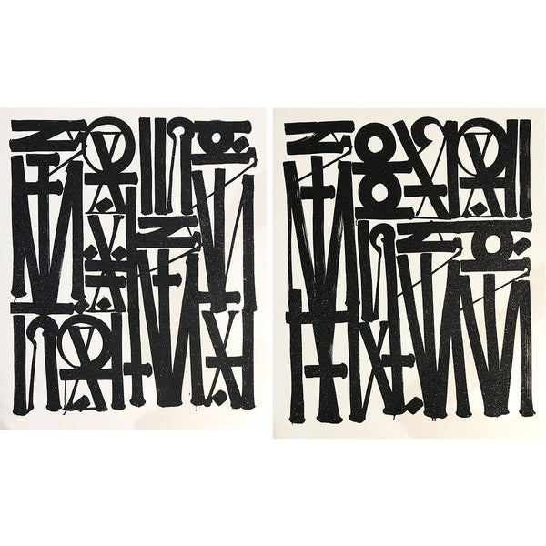 Say My Name / So You Can See Me - Retna - Art For Heroes