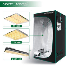 Load image into Gallery viewer, Indoor Grow Tent - 100x100x180cm - Mars Hydro