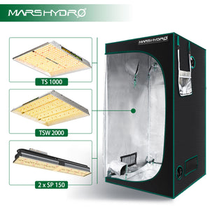 Indoor Grow Tent - 100x100x180cm - Mars Hydro