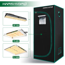 Load image into Gallery viewer, Indoor Grow Tent - 70x70x160cm - Mars Hydro