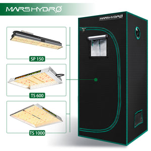 Indoor Grow Tent - 70x70x160cm - Mars Hydro