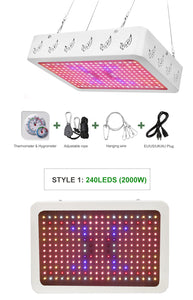 1000W LED Grow Light with SunLike Spectrum. DaisyChain up to 3 lights
