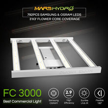 Load image into Gallery viewer, New Mars Hydro FC 3000 Commercial Led Grow Light
