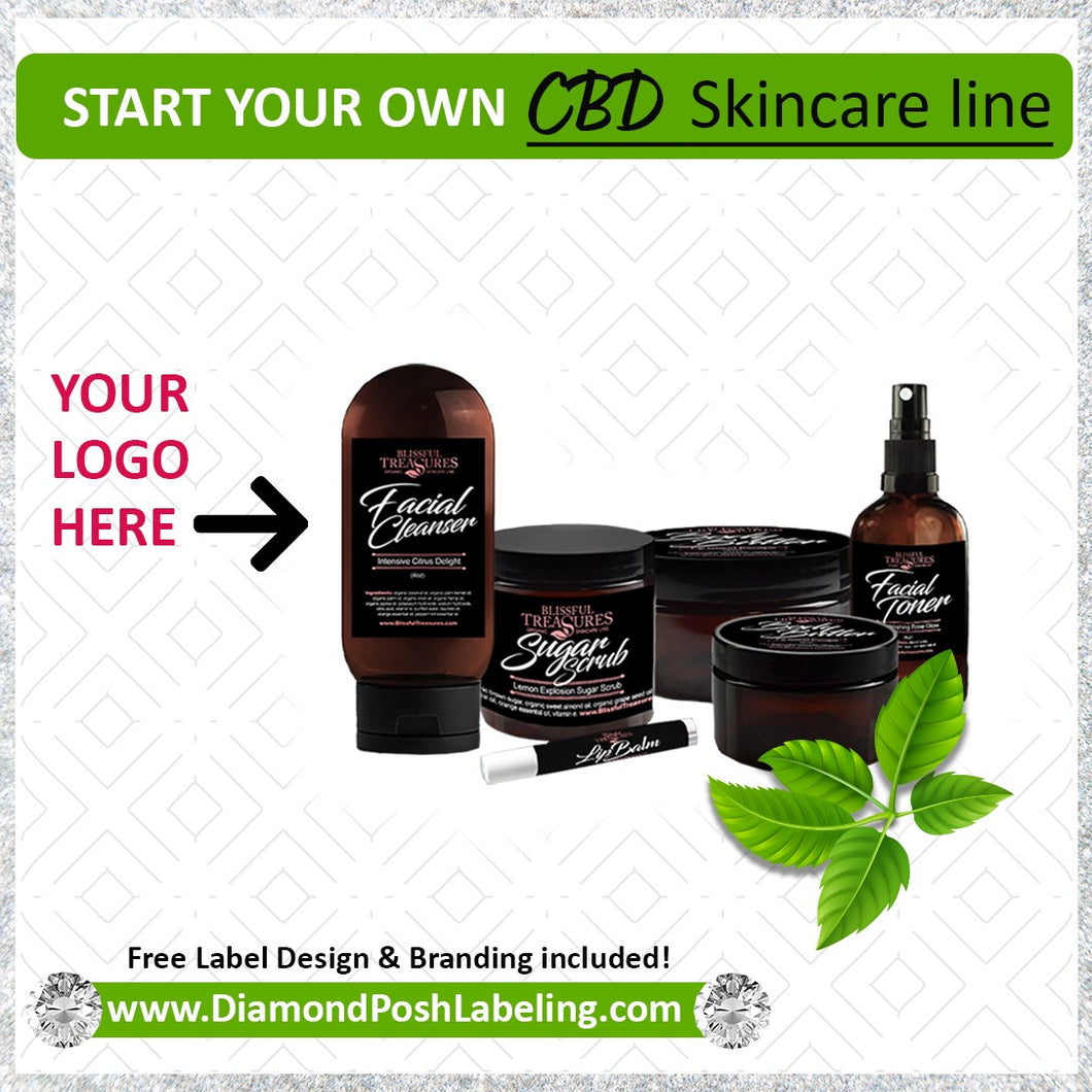 CBD Skincare Line Ultimate Sample Kit