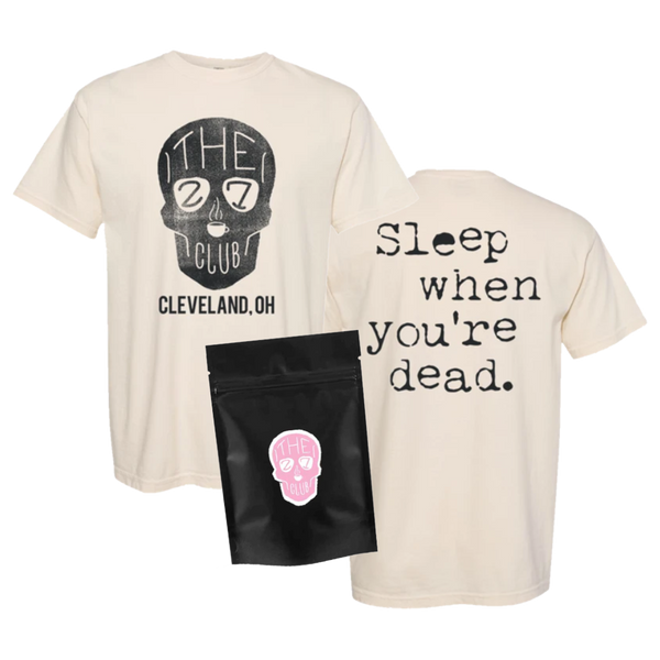 Sleep When You're Dead T-Shirt Bundle
