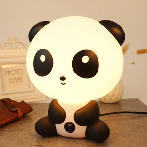 The Glowing Panda Lamp