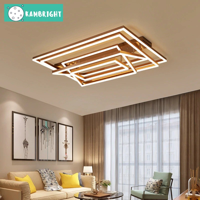 Modern Rectangular Chandelier