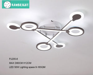 Modern Luxury Circular Design Chandelier