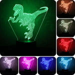 The Glowing Dinosaur