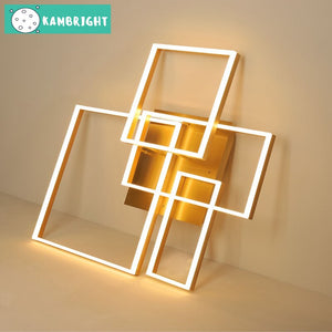Modern Square Shaped Chandelier