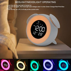 Glowing Round Alarm Clock