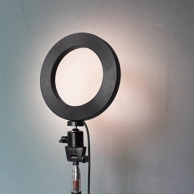 Glowing Ring Light