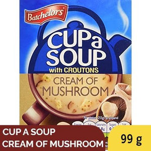 BATCHELORS CUP SOUP CREAM OF MUSHROOM 99G BOX - SmartGrocery-LK