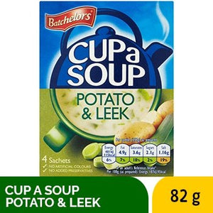 BATCHELORS CUP SOUP POTATO & LEEK 82G - SmartGrocery-LK