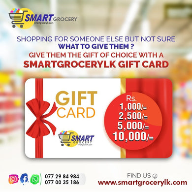 Gift Card - SmartGrocery-LK