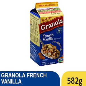 GRANOLA FRENCH VANILLA 582G