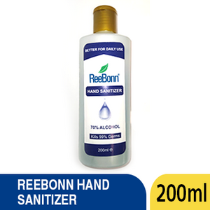 REEBONN HAND SANITIZER 200ML