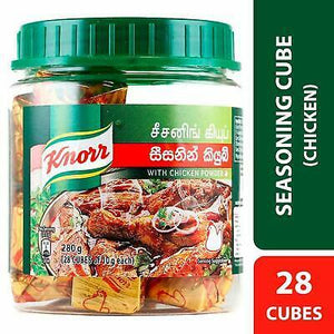 KNORR CHICKEN CUBES 280G (28 CUBES) - SmartGrocery-LK