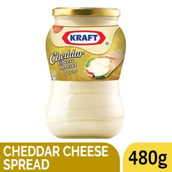 KRAFT CHEDDAR CHEESE SPREAD 480G - SmartGrocery-LK