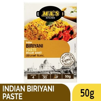 MAS INDIAN BIRIYANI PASTE 50G - SmartGrocery-LK