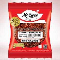 MC CURRIE CRUSHED CHILLIE 200G - SmartGrocery-LK