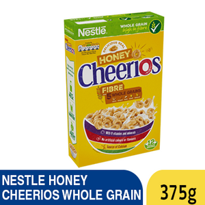 NESTLE HONEY CHEERIOS WHOLE GRAIN 375G