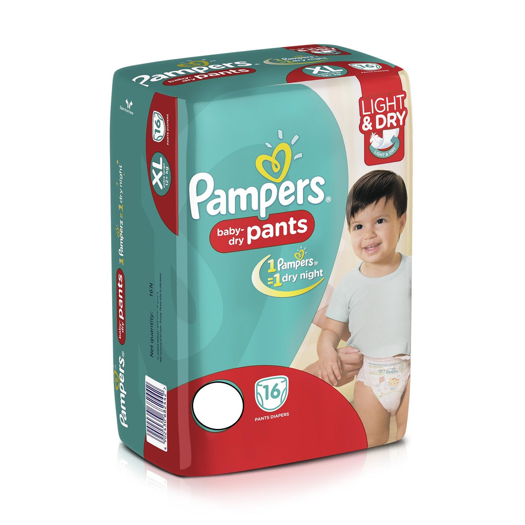 PAMPERS PANTS SM 16'S