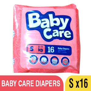 BABY CARE  DIAPERS - S *16