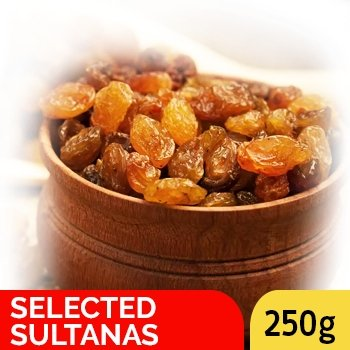 SELECTED SULTANAS 250G - SmartGrocery-LK
