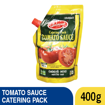 EDINBOROUGH TOMATO SAUCE [POUCH] 400 G