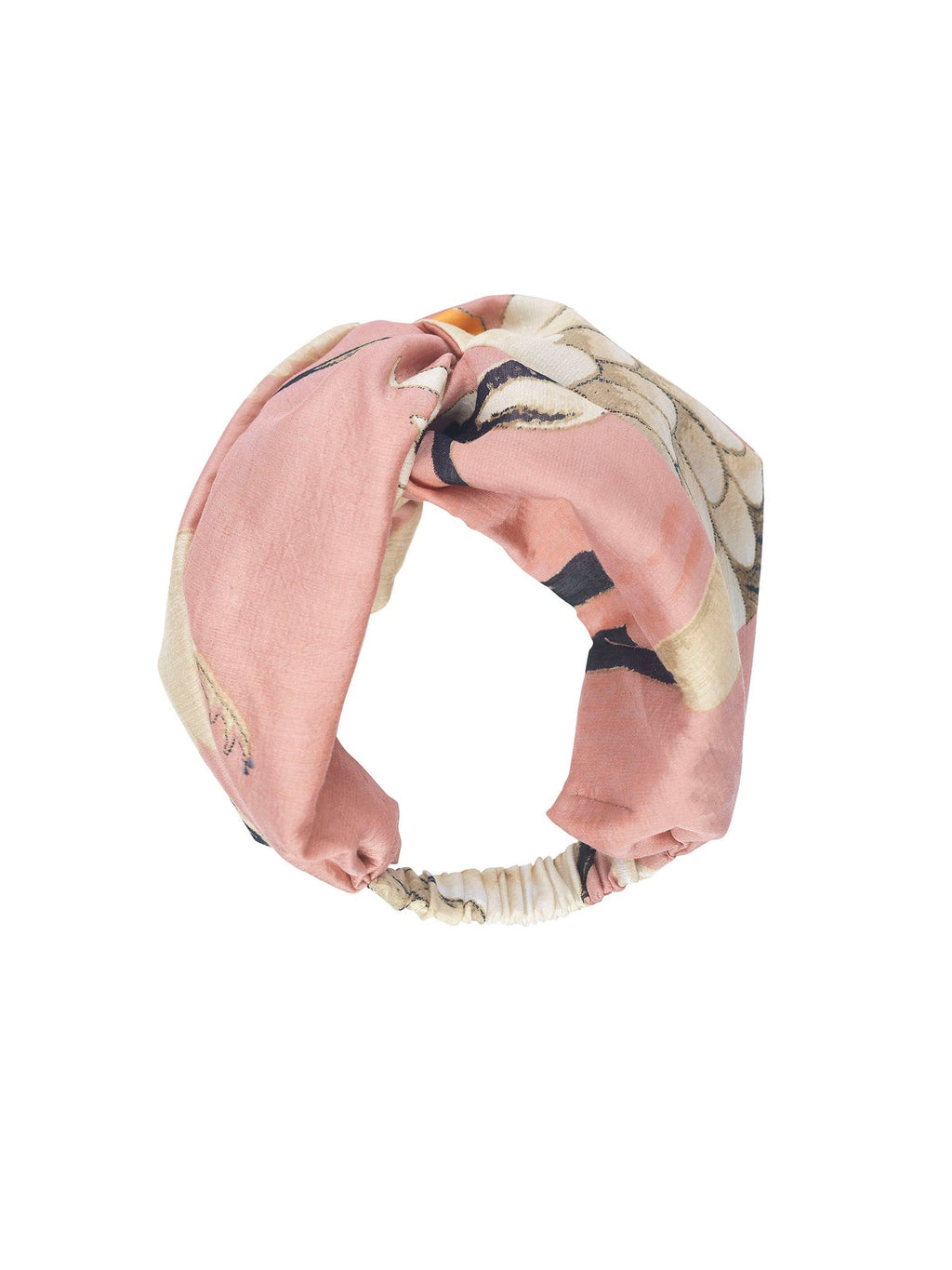One Hundred Stars Headband Stork - Plaster Pink