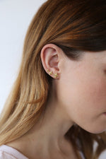 Load image into Gallery viewer, Alya Earrings Gold