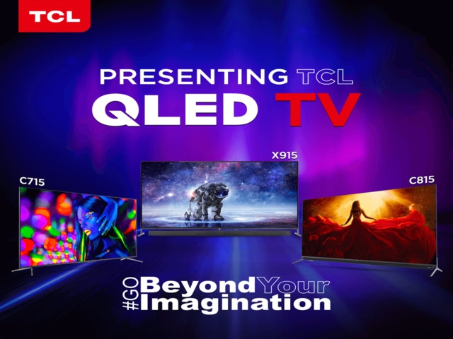 Behold, TCL's launches Full-range New 8K & 4K QLED TVs to Redefine Future of Viewing Experience