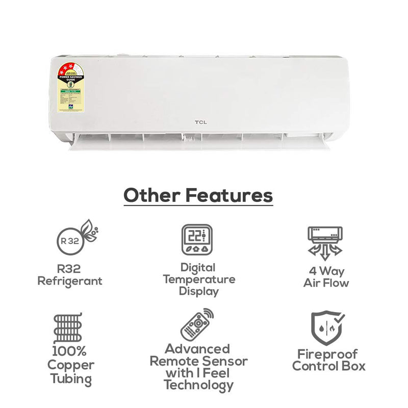 Turbo Air | 3 Star 1 Ton/1.5 Ton/2 Ton Ultra-Inverter Air Conditioner