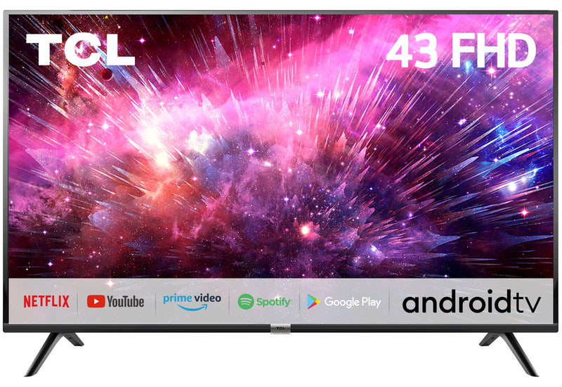 TCL 2K FHD Android S6500FS | Your First Love with AI (Black)