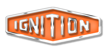 IGNITION TRANSMISSION CAR CLEANING AND CAR DETAILING LOGO BADGE