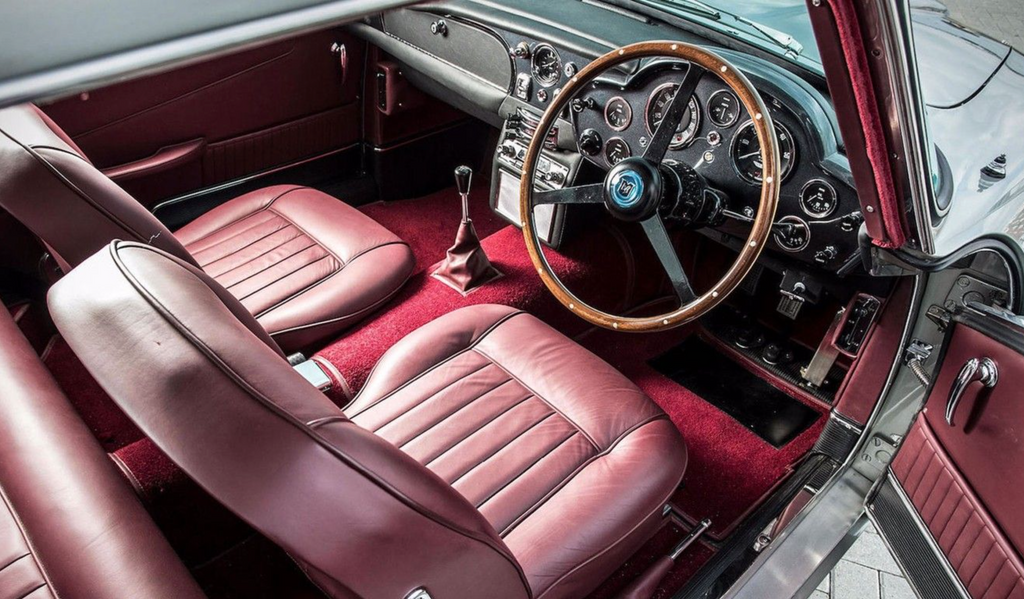 Aston Martin DB5 how to clean your leather car seats and car interior leather trims paul McCartney
